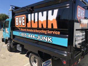Bye Junk Corporate Truck