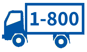 1 800 Truck Icon