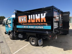 Junk Removal Truck in Fremont