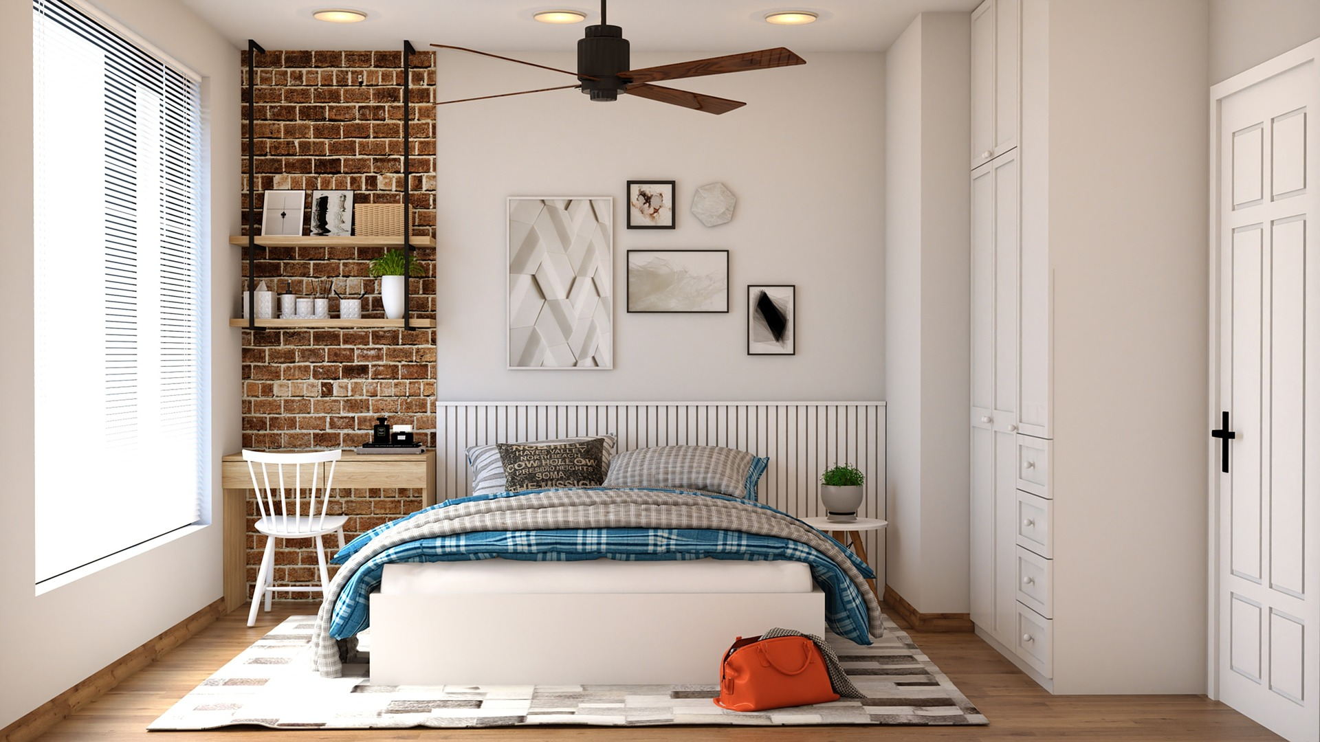 Bedroom With Mattress - Learn How To Recycle Your Mattress