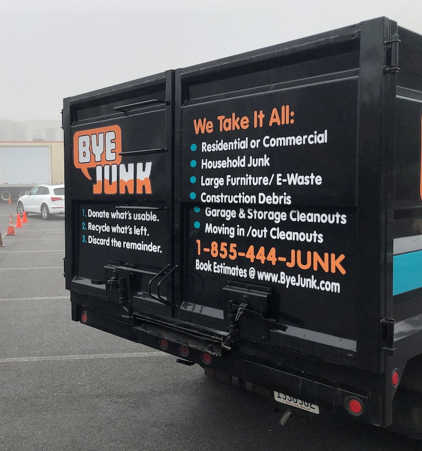Bye Junk Donates Our Junk Hauling First