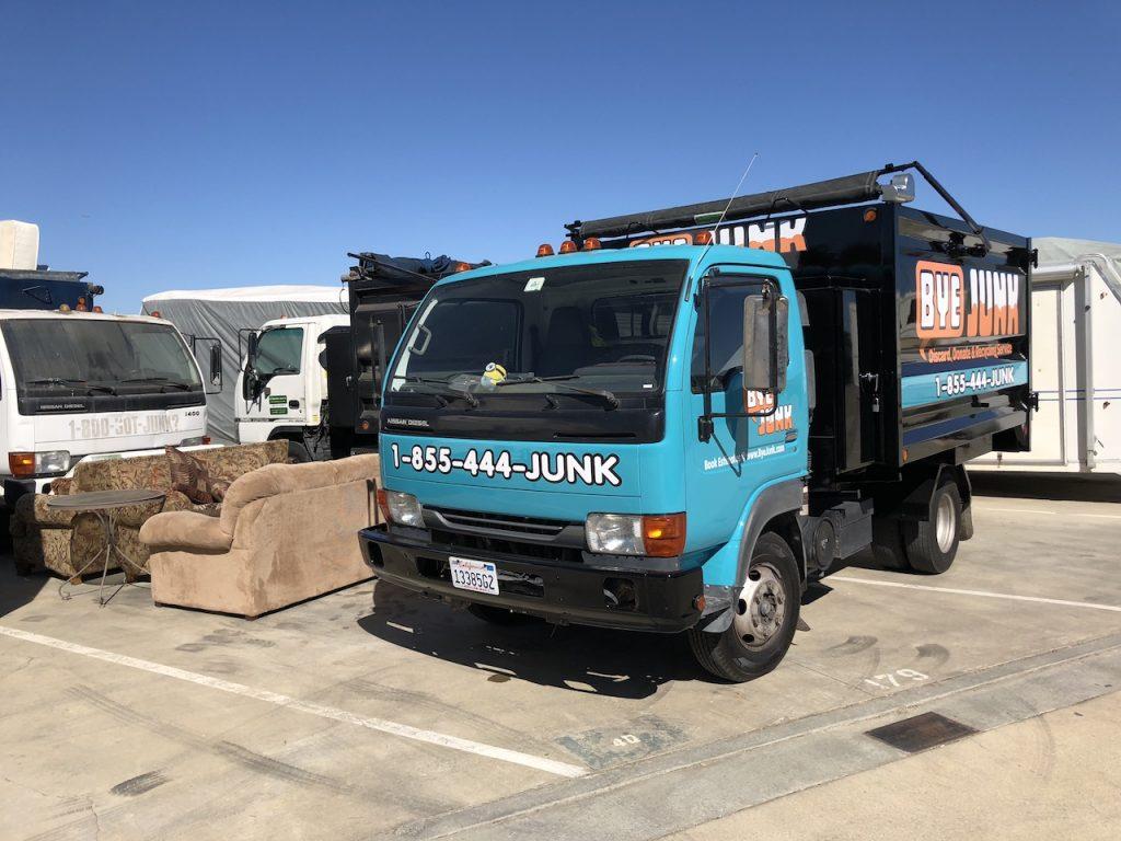 Junk Removal Truck from Bye Junk in Oakland